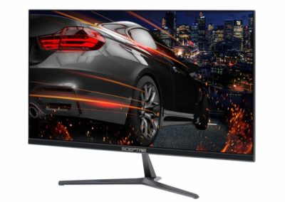 "Sceptre E255B-1658A 24.5"" 165Hz 144Hz 1ms Gaming LED Monitor 2X HDMI 2.0 1x DisplayPort, Metal Black 2019"