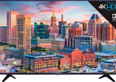 """TCL 43S515 43"""" Class - LED - 5 Series - 2160p - Smart - 4K UHD TV with HDR Roku TV"""