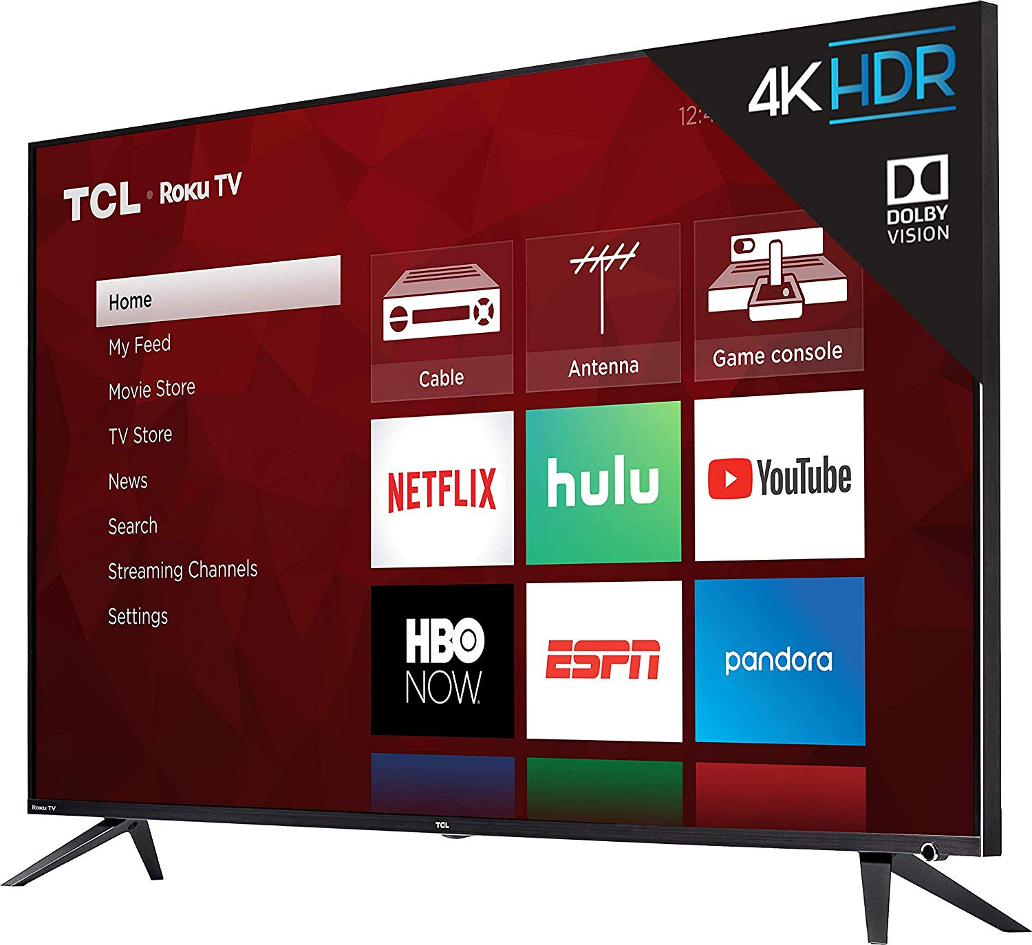 TCL 75R617 75-Inch 4K Ultra HD Roku Smart LED TV 2019 Model