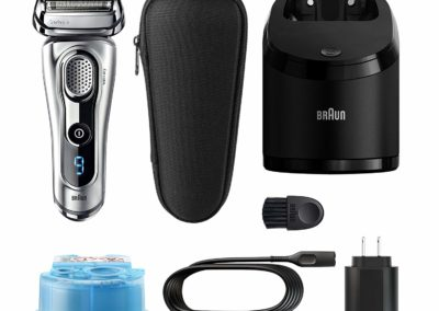 Braun Series 9 9290cc Men's Electric Foil Shaver, Wet and Dry Razor with Clean & Charge Station