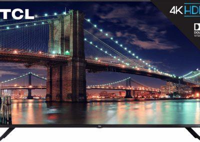 TCL 75R617 6-Series 75-Inch 4K Ultra HD Roku Smart LED TV (2019 Model)