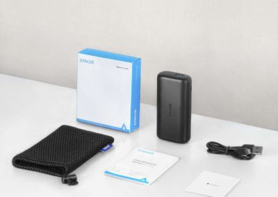 Anker PowerCore 10000 Redux, Ultra-Small Power Bank, 10000mAh Portable Charger
