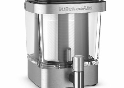 KitchenAid 38 Oz Brushed Stainless Steel Cold Brew XL Coffee Maker