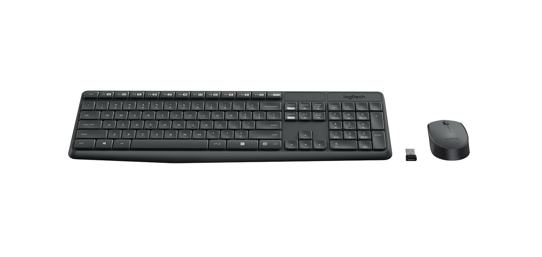 490aa00c8226 Logitech Wireless Optical Mouse And Keyboard MK235 for $12.99 from ...