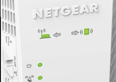Netgear Certified Refurbished EX6400-100NAR AC1900 Mesh WiFi Extender