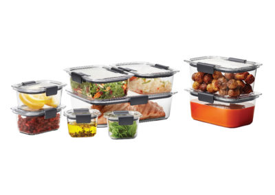 Rubbermaid Brilliance Food Storage Container 18-piece Set