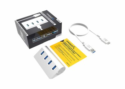 Sabrent Premium 4 Port Aluminum USB 3.0 Hub