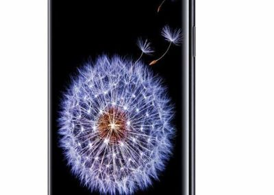 Samsung Galaxy S9 Unlocked Smartphone, Midnight Black, US Warranty (Renewed)