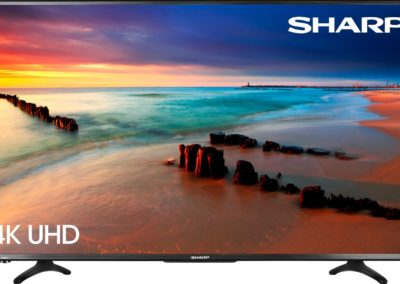 Sharp 43 Inch LED Smart 4K UHD TV with HDR Roku TV LC-43LBU591U
