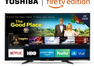 Toshiba 55LF711U20 55-inch 4K Ultra HD Smart LED TV HDR