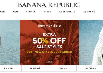 Banana Republic Sale