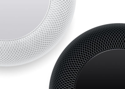 Apple HomePod A8 Chip Equipped Smart Speaker with Siri in White