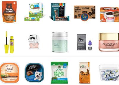 Amazon Product Sampling