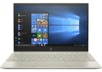 "Touchscreen IPS 13.3"" 1080p HP Envy 13t Laptop with 8th Gen Intel Core i7-8565U, NVIDIA GeForce MX250 2GB GDDR5, 8GB DDR4 SDRAM, 256GB NVMe SSD, Bang & Olufsen quad speakers, 0.57"" thin & 2.59 lbs"