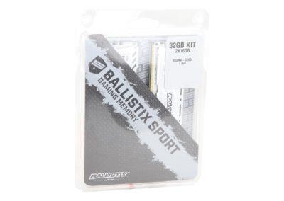 Ballistix Sport LT 32GB (2 x 16GB) 288-Pin DDR4 SDRAM DDR4 3200 (PC4 25600) Desktop Memory Model BLS2K16G4D32AESC