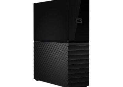 WD My Book 10TB USB 3.0 External Desktop Hard Drive WDBBGB0100HBK-NESN Black