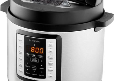Insignia NS-MC60SS9 6-Quart Multi-Function Pressure Cooker in Stainless Steel