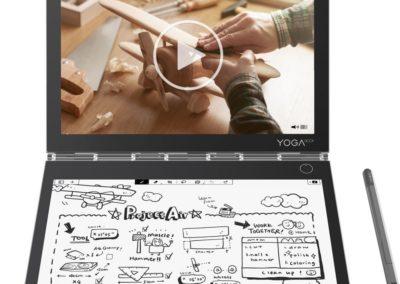 "Lenovo ZA3S0136US Yoga Book C930 2-in-1 10.8"" Touch-Screen Laptop - Intel Core i5 - 4GB Memory - 128GB Solid State Drive - Iron Gray"