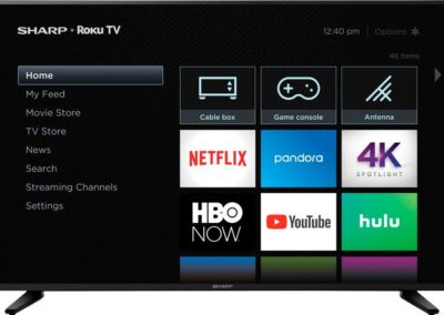 "Sharp LC-58Q7370U 58"" Class - LED - 2160p - Smart - 4K UHD TV with HDR - Roku TV"