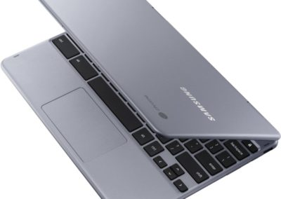 "Samsung XE521QAB-K03US Plus V2 2-in-1 12.2"" Touch-Screen Chromebook - Intel Core M3 - 4GB Memory - 128GB eMMC Flash Memory - Stealth Silver"