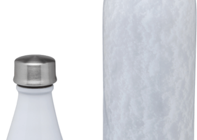 Aladdin Earthscapes Fresco Twist & Go Vacuum Bottle | 20oz | Snow