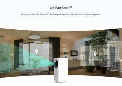 Wyze Cam Pan 1080p Pan/Tilt/Zoom Wi-Fi Indoor Smart Home Camera with Night Vision, 2-Way Audio, Free Rolling 14-Day Cloud Storage, Works with Alexa