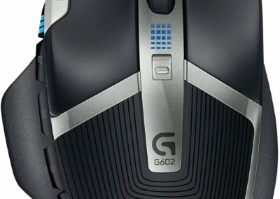 Logitech G602 Lag-Free Wireless Gaming Mouse with 11 Programmable