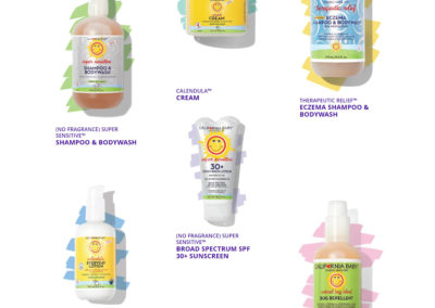 California Baby 100% Plant-based Products and Pure & Gental Skincare