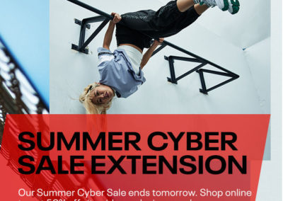 Reebok Cyber Summer Sale Extension