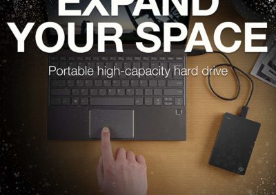 Seagate Backup Plus Portable 5TB USB 3.0 External Hard Drive