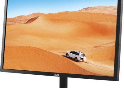 "AOC 32"" IPS Panel 2560x1440 VGA DVI HDMI DP 75Hz 5ms FreeSync QHD LED Monitor- Q3279VWFD8"