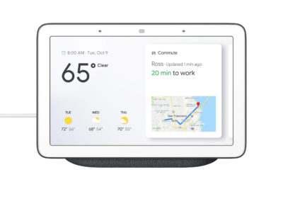 "Google Home Hub GA00515-US 7"" Smart Home Controller in Charcoal"