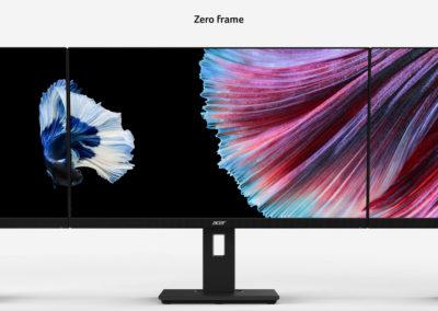 "Acer B247W bmiprzx UM.FB7AA.001 ACB247WBMRZX 24"" 16:10 IPS Monitor"