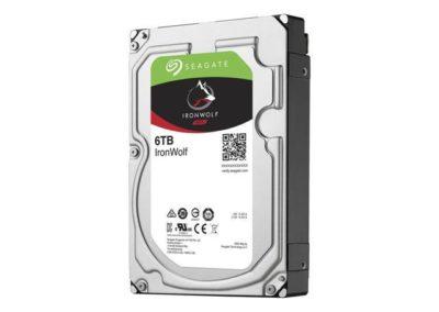 "Seagate IronWolf 6TB NAS Hard Drive 7200 RPM 128MB Cache SATA 6.0Gb/s 3.5"" Internal Hard Drive ST6000VN0041 - OEM"