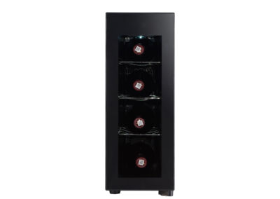 RCA, 4 Bottle Wine Fridge, (RFRW041), Black