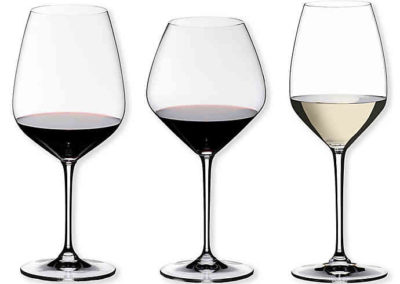 Riedel Bravissimo Stemware: Red, Pinot Noir, and Prosecco Glass 0494/07 0494/0 0494/85