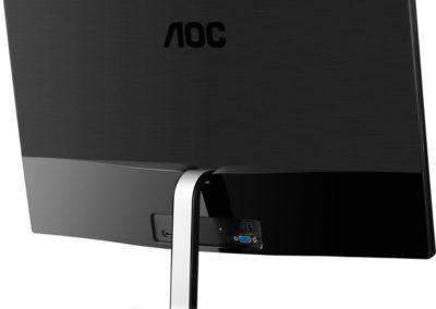 "AOC - i2779vh 27"" IPS LED FHD Monitor - Black/Silver"