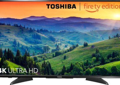 "Toshiba - 43"" Class – LED - 2160p – Smart - 4K UHD TV with HDR – Fire TV Edition Model:43LF621U19 SKU:6194907"