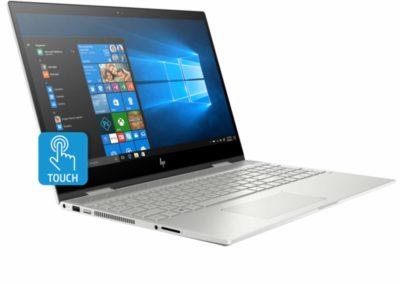 """Touchscreen IPS 15.6"""" 1080p HP Envy x360 15t 5HK14AV_1 2-in-1 Laptop with 8th Gen Intel Core i7-8565U, 8GB DDR4 SDRAM, 256GB M.2 SSD, HP Pen"""