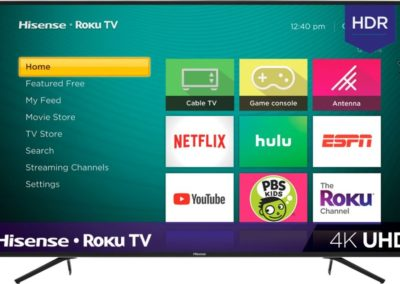 "Hisense 65R7E1 65"" Class - LED - R7 Series - 2160p - Smart - 4K UHD TV with HDR - Roku TV"