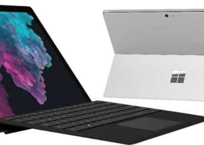 "Touchscreen 12.3"" Microsoft Surface Pro PGJ-00001 with Black Keyboard, Intel Core M3-7Y30, 4GB RAM, 128GB SSD"