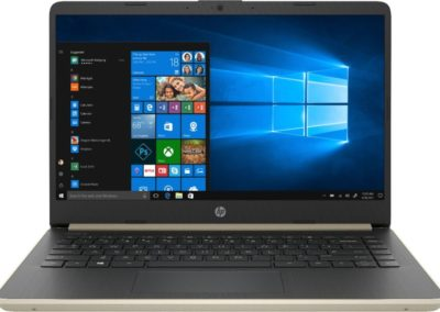 "HP 14-DQ0011DX 14"" Touch-Screen Laptop - Intel Core i3 - 4GB Memory - 128GB Solid State Drive - Ash Silver Keyboard Frame"