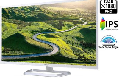 "Acer EB321HQ ABI UM.JE1AA.A01 31.5"" LED Monitor, Black"