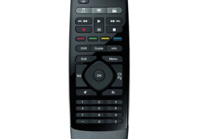 Logitech Harmony Smart Control Hub 815-000101 with Smartphone App and Simple All in One Remote 815-000100 - Black