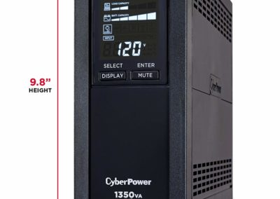 CyberPower 1350VA CP AVR Uninterruptible Power Supply with LCD Display