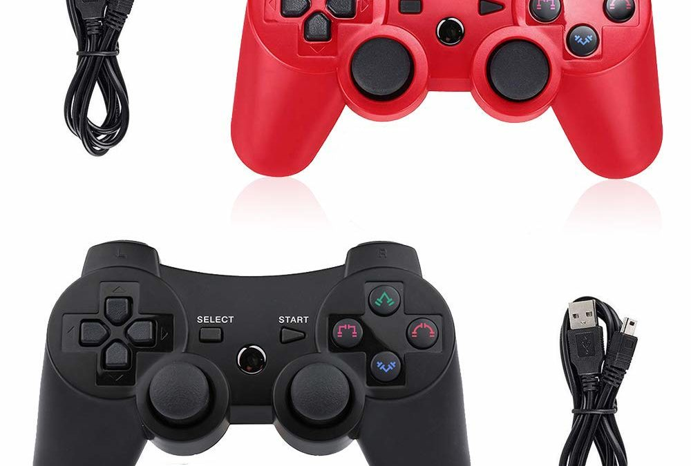 PS3 Controller Wireless 2 Pack Double Shock Gamepad for Playstation 3 for $9.99 Shipped from Amazon