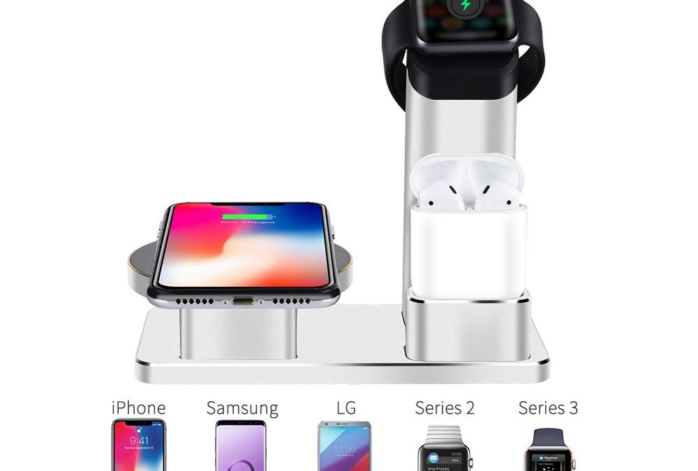 Wuloo 10W Wireless Aluminum Charger Station Wuloo 10W Wireless Aluminum Charger Station for $13.99 Shipped from Amazon