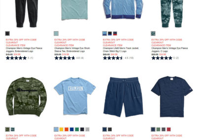Champion 20% off Clearance