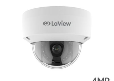 LaView LV-PD514028C-RF 4MP (2688 x 1520) 2K HD IP 67 Outdoor Day/ Night DWDR PoE IP Dome Security Camera