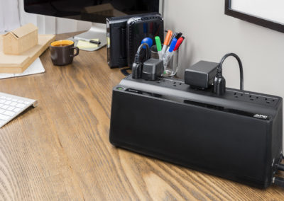 APC Back-UPS BE Series 900VA Desktop Battery Backup & Surge Protector w/ USB, 9 Outlets (BN900M)